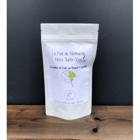 Croustilles de Kale de Normandie - Piment d'Espelette - Bio
